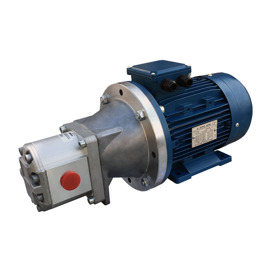 Mkmp415v2200k440p three phase ac motor pump units for Hydraulic pump motor units