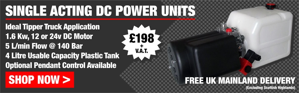 Bosch Rexroth DC Powerpacks only £198 + V.A.T.